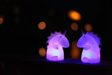 deco lampe licorne