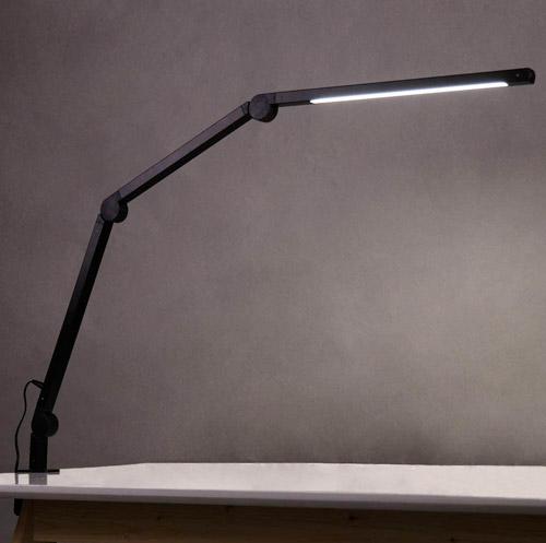 EYOCEAN 10W Lampe d'Architecte, avec Pince, LED Protection des Yeux, Atténuation et Température de Couleur