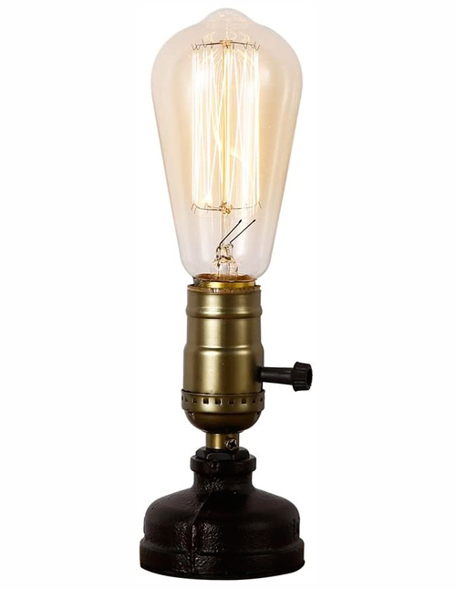 lampe de bureau INJUICY Loft Retro Industriel