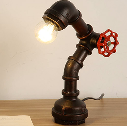 INJUICY-lampe Vintage Industriel