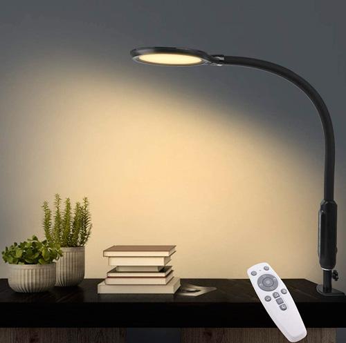 Lampe de bureau design flexible col de cygne