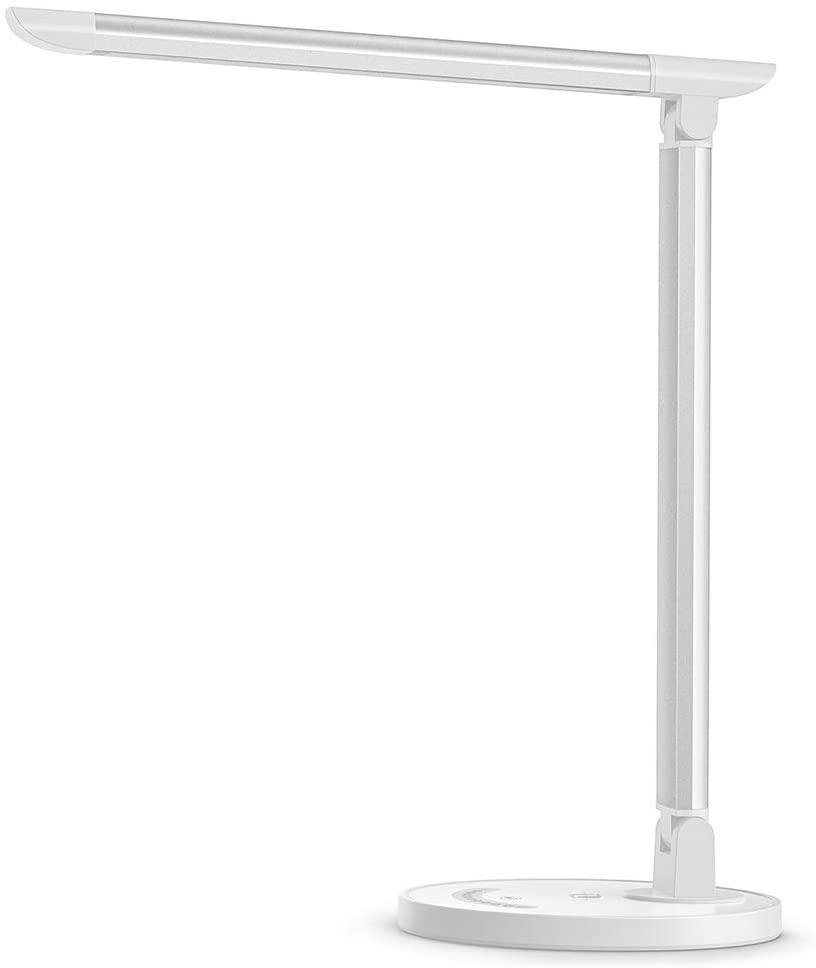 lampe de bureau blanche