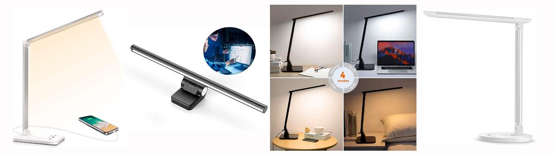 comparatif, test et avis des meilleures lampes de bureau LED