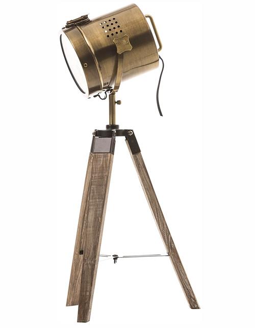 Lampe projecteur design vintage et rétro année 50