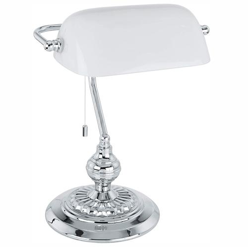 lampe de banquier Eglo blanche