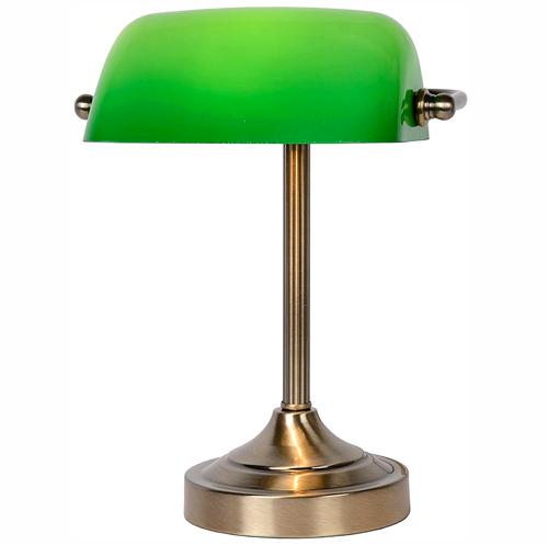 Lucide BANKER - Lampe de Banquier - Bronze