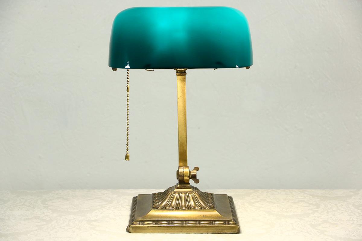 lampe de bibliothèque Emeralite originale